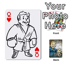 Queen Falloutdeckcustomd By Brianna   Playing Cards 54 Designs   9os9ldaxvlym   Www Artscow Com Front - HeartQ