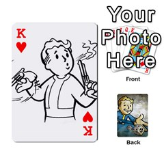 King Falloutdeckcustomd By Brianna   Playing Cards 54 Designs   9os9ldaxvlym   Www Artscow Com Front - HeartK