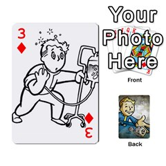 Falloutdeckcustomd By Brianna   Playing Cards 54 Designs   9os9ldaxvlym   Www Artscow Com Front - Diamond3