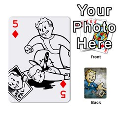 Falloutdeckcustomd By Brianna   Playing Cards 54 Designs   9os9ldaxvlym   Www Artscow Com Front - Diamond5