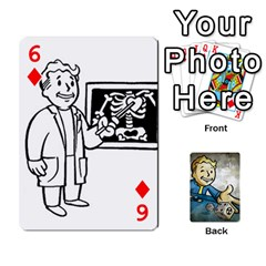 Falloutdeckcustomd By Brianna   Playing Cards 54 Designs   9os9ldaxvlym   Www Artscow Com Front - Diamond6