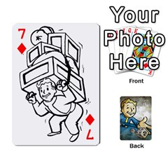 Falloutdeckcustomd By Brianna   Playing Cards 54 Designs   9os9ldaxvlym   Www Artscow Com Front - Diamond7