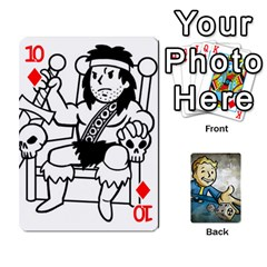 Falloutdeckcustomd By Brianna   Playing Cards 54 Designs   9os9ldaxvlym   Www Artscow Com Front - Diamond10