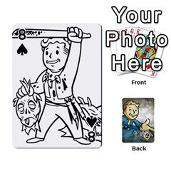 Falloutdeckcustomd By Brianna   Playing Cards 54 Designs   9os9ldaxvlym   Www Artscow Com Front - Spade8
