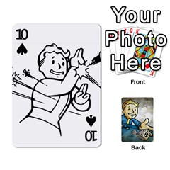 Falloutdeckcustomd By Brianna   Playing Cards 54 Designs   9os9ldaxvlym   Www Artscow Com Front - Spade10
