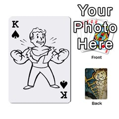 King Falloutdeckcustome By Brianna   Playing Cards 54 Designs   Eq69alyb12u2   Www Artscow Com Front - SpadeK