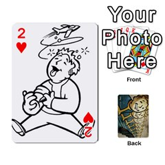 Falloutdeckcustome By Brianna   Playing Cards 54 Designs   Eq69alyb12u2   Www Artscow Com Front - Heart2