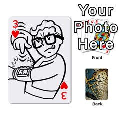 Falloutdeckcustome By Brianna   Playing Cards 54 Designs   Eq69alyb12u2   Www Artscow Com Front - Heart3