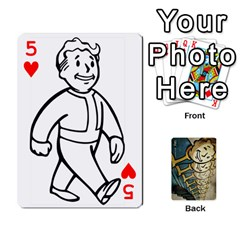 Falloutdeckcustome By Brianna   Playing Cards 54 Designs   Eq69alyb12u2   Www Artscow Com Front - Heart5