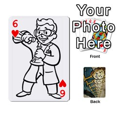 Falloutdeckcustome By Brianna   Playing Cards 54 Designs   Eq69alyb12u2   Www Artscow Com Front - Heart6