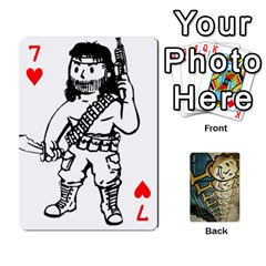 Falloutdeckcustome By Brianna   Playing Cards 54 Designs   Eq69alyb12u2   Www Artscow Com Front - Heart7