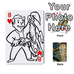 Falloutdeckcustome By Brianna   Playing Cards 54 Designs   Eq69alyb12u2   Www Artscow Com Front - Heart8