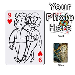 Falloutdeckcustome By Brianna   Playing Cards 54 Designs   Eq69alyb12u2   Www Artscow Com Front - Heart9