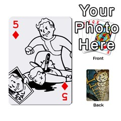 Falloutdeckcustome By Brianna   Playing Cards 54 Designs   Eq69alyb12u2   Www Artscow Com Front - Diamond5