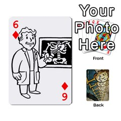 Falloutdeckcustome By Brianna   Playing Cards 54 Designs   Eq69alyb12u2   Www Artscow Com Front - Diamond6