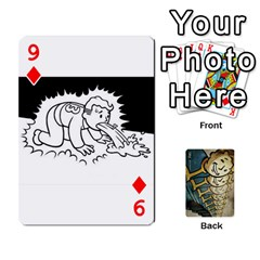 Falloutdeckcustome By Brianna   Playing Cards 54 Designs   Eq69alyb12u2   Www Artscow Com Front - Diamond9