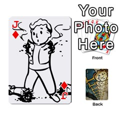 Jack Falloutdeckcustome By Brianna   Playing Cards 54 Designs   Eq69alyb12u2   Www Artscow Com Front - DiamondJ