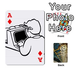 Ace Falloutdeckcustome By Brianna   Playing Cards 54 Designs   Eq69alyb12u2   Www Artscow Com Front - DiamondA