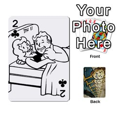 Falloutdeckcustome By Brianna   Playing Cards 54 Designs   Eq69alyb12u2   Www Artscow Com Front - Club2