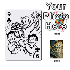 Falloutdeckcustome By Brianna   Playing Cards 54 Designs   Eq69alyb12u2   Www Artscow Com Front - Club9