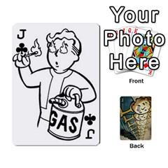 Jack Falloutdeckcustome By Brianna   Playing Cards 54 Designs   Eq69alyb12u2   Www Artscow Com Front - ClubJ