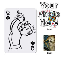 Queen Falloutdeckcustome By Brianna   Playing Cards 54 Designs   Eq69alyb12u2   Www Artscow Com Front - ClubQ