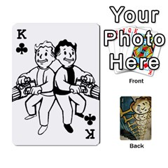 King Falloutdeckcustome By Brianna   Playing Cards 54 Designs   Eq69alyb12u2   Www Artscow Com Front - ClubK