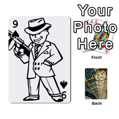 Falloutdeckcustome By Brianna   Playing Cards 54 Designs   Eq69alyb12u2   Www Artscow Com Front - Spade9