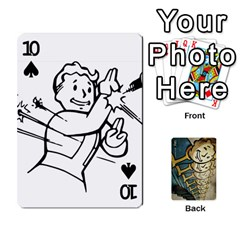 Falloutdeckcustome By Brianna   Playing Cards 54 Designs   Eq69alyb12u2   Www Artscow Com Front - Spade10