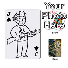 Jack Falloutdeckcustome By Brianna   Playing Cards 54 Designs   Eq69alyb12u2   Www Artscow Com Front - SpadeJ