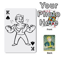 King Falloutdeckcustomf By Brianna   Playing Cards 54 Designs   Y7q4x4qxm9eb   Www Artscow Com Front - SpadeK