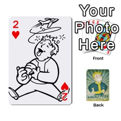 Falloutdeckcustomf By Brianna   Playing Cards 54 Designs   Y7q4x4qxm9eb   Www Artscow Com Front - Heart2