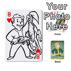 Falloutdeckcustomf By Brianna   Playing Cards 54 Designs   Y7q4x4qxm9eb   Www Artscow Com Front - Heart8