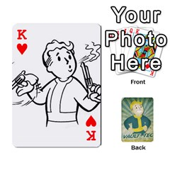 King Falloutdeckcustomf By Brianna   Playing Cards 54 Designs   Y7q4x4qxm9eb   Www Artscow Com Front - HeartK
