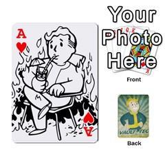 Ace Falloutdeckcustomf By Brianna   Playing Cards 54 Designs   Y7q4x4qxm9eb   Www Artscow Com Front - HeartA