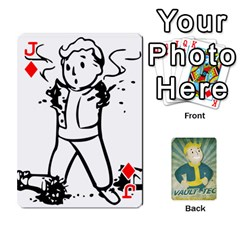 Jack Falloutdeckcustomf By Brianna   Playing Cards 54 Designs   Y7q4x4qxm9eb   Www Artscow Com Front - DiamondJ