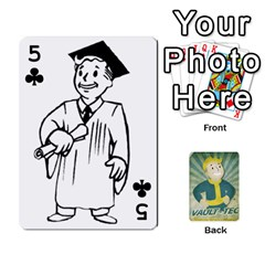 Falloutdeckcustomf By Brianna   Playing Cards 54 Designs   Y7q4x4qxm9eb   Www Artscow Com Front - Club5