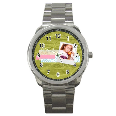 Holiday By Joely   Sport Metal Watch   Vjo0a0sgtpns   Www Artscow Com Front