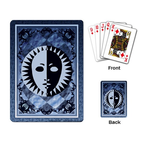 Persona Playing Cards By Mrklotz   Playing Cards Single Design   2yftr5gp0aoi   Www Artscow Com Back