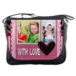 with love - Messenger Bag