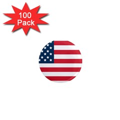 Flag 100 Pack Mini Magnet (Round) by tammystotesandtreasures