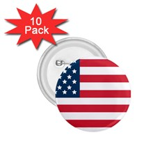 Flag 10 Pack Small Button (round) by tammystotesandtreasures