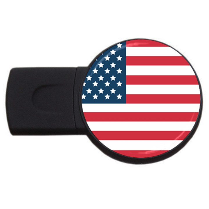 Flag 2Gb USB Flash Drive (Round)