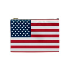 Flag Medium Makeup Purse