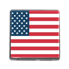 Flag Card Reader With Storage (square)