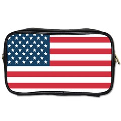 Flag Twin Sided Personal Care Bag by tammystotesandtreasures