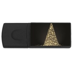 Christmas Tree Sparkle Jpg 4gb Usb Flash Drive (rectangle) by tammystotesandtreasures