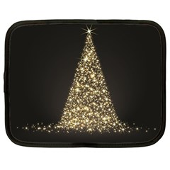 Christmas Tree Sparkle Jpg 12  Netbook Case by tammystotesandtreasures