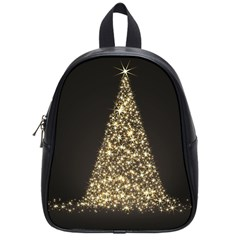 Christmas Tree Sparkle Jpg Small School Backpack by tammystotesandtreasures