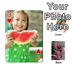 Cards By Kelly Hearn   Playing Cards 54 Designs   Pxmlsm7hezka   Www Artscow Com Front - Heart3